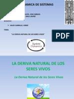 """""""LA DERIVA NATURAL DE LOS SERES VIVOS"""""""