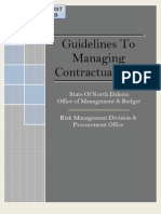 Guideline Managing Contractual Risk
