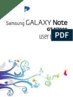 GT N7000 Manual
