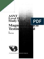 ASNT Level II MT Study Guide