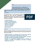 Port Package Insurance