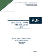 Informe PSI 2010