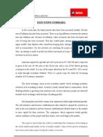 Fundamental and Technical Analysis @ Kotak Mahindra Mba Project Report