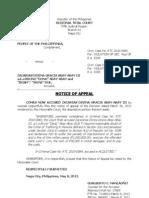 Pp v Abay-Abay - Notice of Appeal