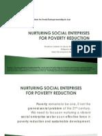 Nurturing Social Enterprises for Poverty Reduction