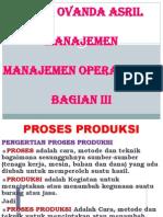 Manajemen Operasional Bagian III
