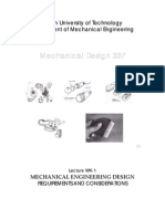 Mechanical Design Basics
