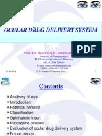 Oc Cular Drug Delivery System