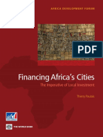 Financing Africa's Cities