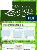 Copy of Agriculture and Its Influence in Pakistan 1zcnys5