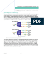 White Paper - Net Optics - Dynamic Load Balancing With Director Pro