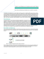 Application Note - Static Load Balancing Implemented with Filters