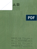 Obice 75-18 Mod 34 1939