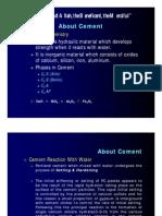 Cement Process Chemistry