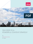 It's Open Consulting - 10 Steps to a Powerful Content Strategy