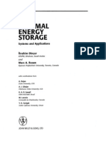 Chapt 6 of Thermal Energy Storage