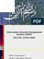 ISMS ISO27001:2005