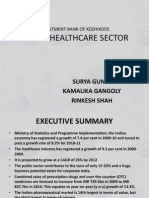 Ibok Healthcare Sector Ppt