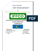Inventory Management in Iffco V