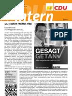 CDU intern Juli / August 2012