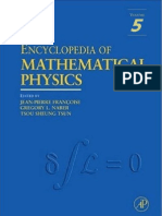 Encyclopedia of Mathematical Physics Vol.5 S-Y Ed. Fran Oise Et Al