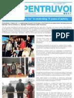 Newsletter Pentru Voi June - October 2011