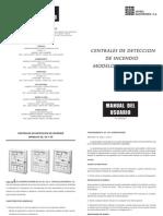 Manual Detector de Humo Sovica