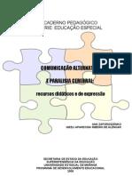 COMUNICAÇÃO ALTERNATIVA E PARALESIA CEREBRAL