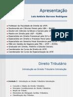 Aula de Direito Tributario - 30-06-2012