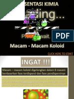 Macam-Macam Koloid
