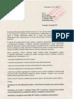Apel MNW złożony w biurze Marszałek Sejmu RP