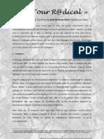 Détour R@dical, Analyse de L'Idéologie allemande du lundi 20-02-12
