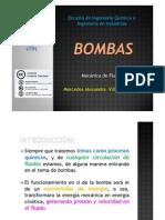 BOMBAS - MECÁNICA DE FLUIDOS