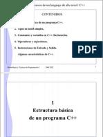 Elementos Basicos C++