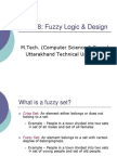 Fuzzy Logic and Design