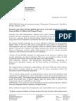 Karolinska Institute Press Release