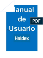 Manual de Usurio HALDEX