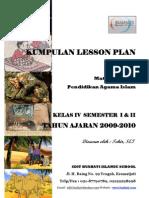 Lesson Plan PAI 2009-2010