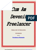 Cum Am Devenit Freelancer