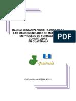 Manual Organizacional Listo