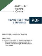 Ep Training Course_webinar 1 Notes