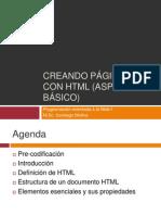 El Lenguaje HTML