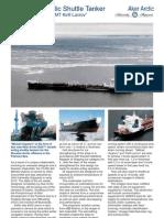 Aker Arctic Shuttle Tanker 70000DWT