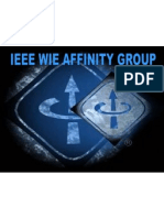 IEEE WIE Affinity Group Benefits