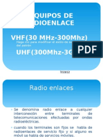 Equipos de Radioenlace