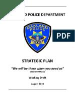Oakland Police Strategic Plan