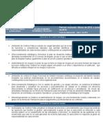 Informe Del Estado de Control Interno Mar 2012 a Jun 2012