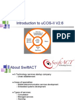 Introduction to uCOS II V2 6 M11