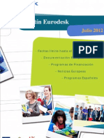 Boletin Eurodesk Julio 2012