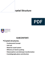 Crystal Structure Lec